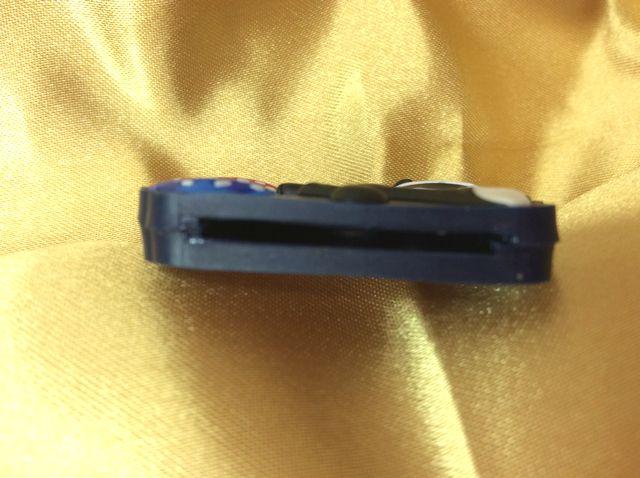 フィリックス・ザ・キャットのラバーキーカバーの鍵を入れる部分のクローズアップ画像
