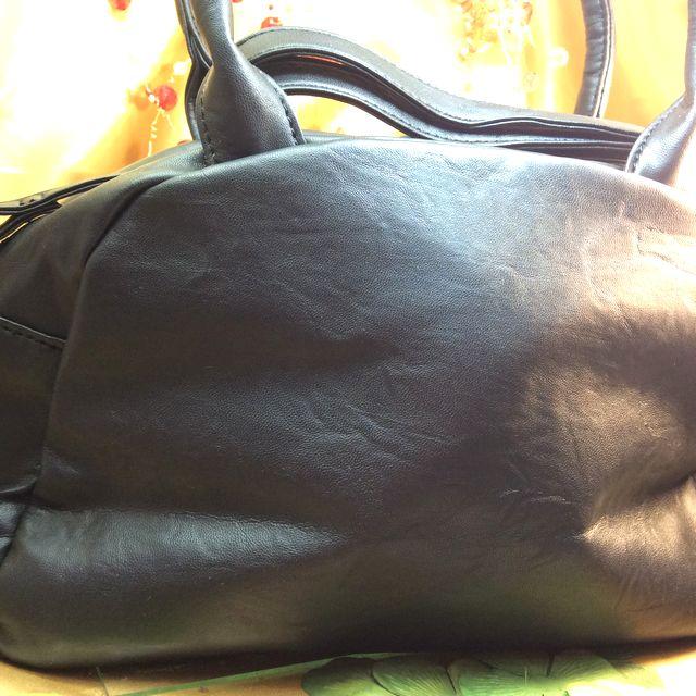 猫のプーちゃんショルダーバッグの背面の画像