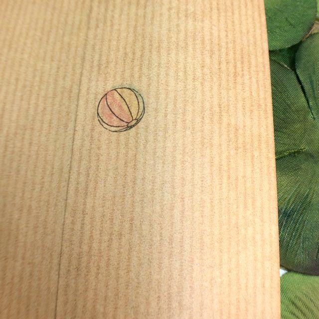 ポタリングキャットさんの猫の茶封筒12枚入りの紙風船の裏の画像