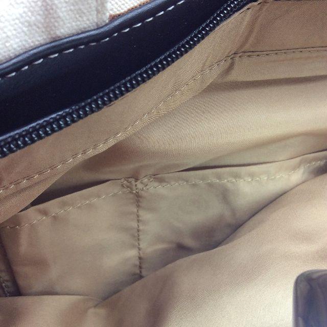 グラフティプーちゃんリュックの内側のポケット部分の画像