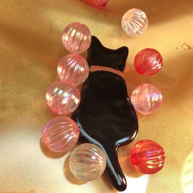 陶器製黒猫箸置きの全体の画像