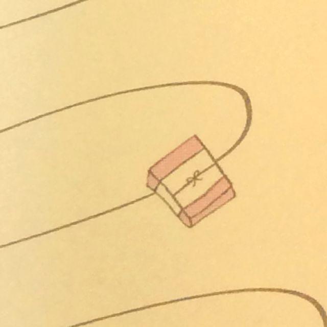 くちばしさくぞうさんレターセット「お届けいたしニャす」の便箋の柄のアップ写真