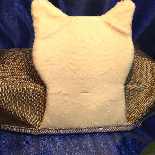 フェリシモ猫部のティシュボックスカバーの背面の画像
