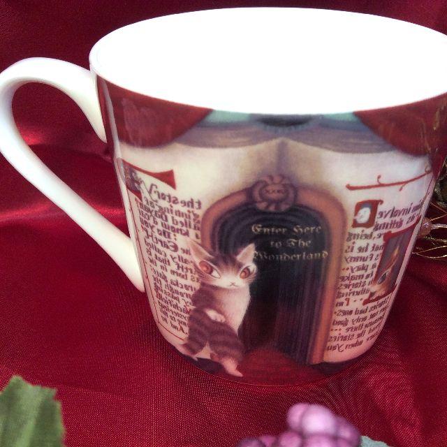 ダヤンの軽量マグカップの後ろ側の画像