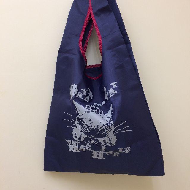 ダヤンのエコバッグ「ダヤン・ザ・CAT」柄のおもて面全体画像