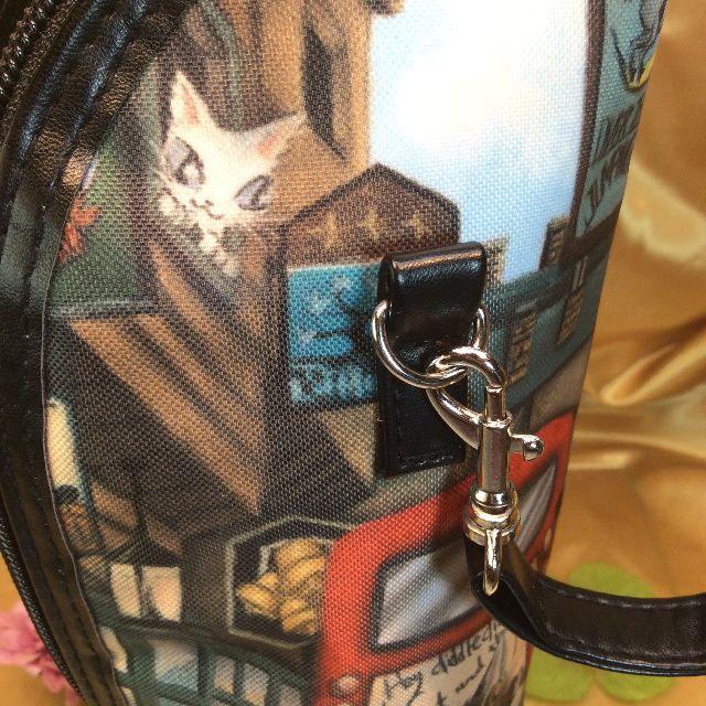 ダヤンのボトルホルダーのベルトの引っ掛け金具の部分の画像