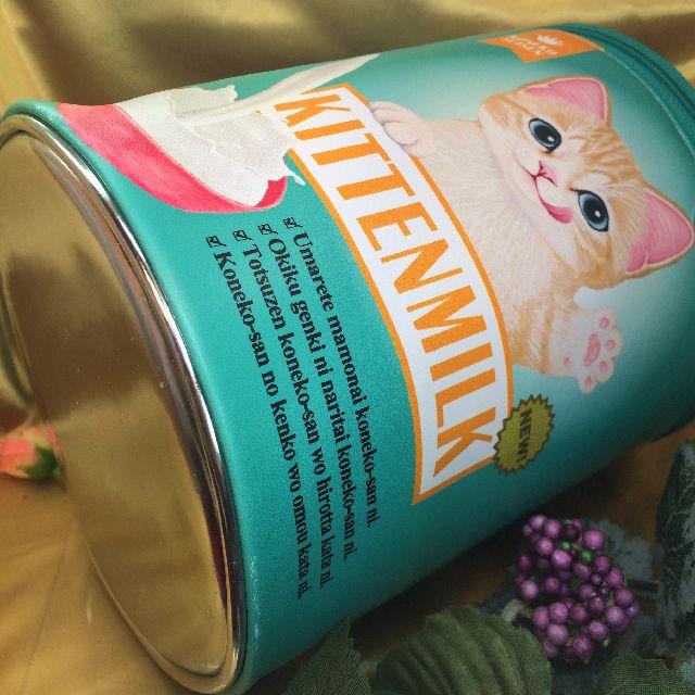フェリシモ猫部のバニティーポーチの底面の画像