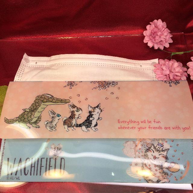 ダヤンのマスクケース「桜」の全体の画像