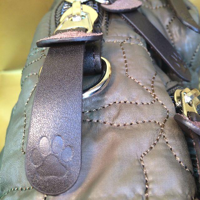 ダヤンのワンショルダーバッグのファスナーの引手部分の画像
