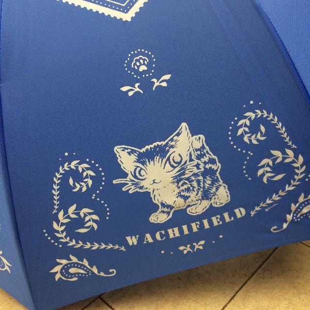 猫のダヤンの長傘「おさんぽ・猫模様」柄の絵柄のクローズアップ画像