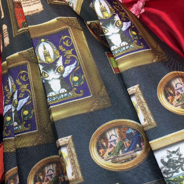 ダヤンの長傘「エスパーニャ」の絵柄の画像