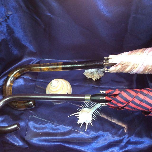 マンハッタナーズジャンプ長傘とダヤンのスリム長傘の比較画像