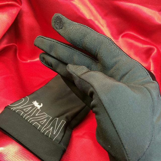 ダヤンの抗菌手袋「すやすや」柄の右手人差し指部分の画像