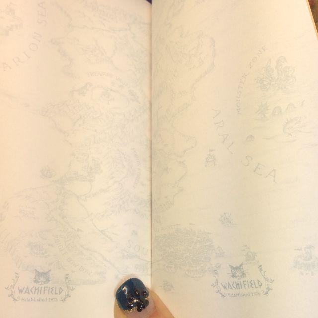 ダヤンのスケジュール帳2020のフリーメモ部分の画像