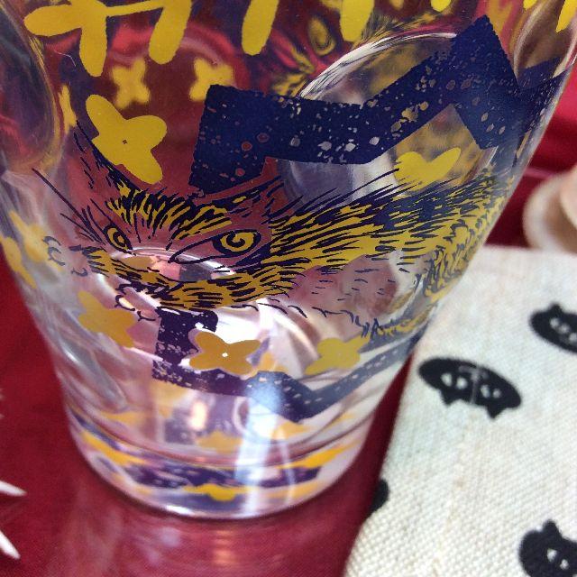 ダヤンのラッシュグラスの側面のアップ画像