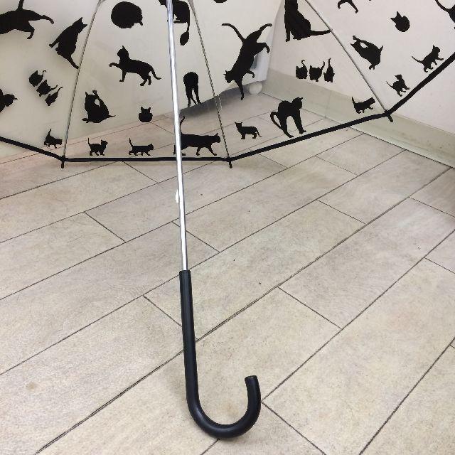 大西賢ビニール傘ネコpatternの持ち手の画像