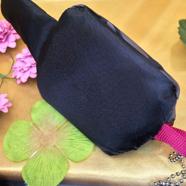 エコネコダヤントートバッグに付属のシッポポーチの底面の画像