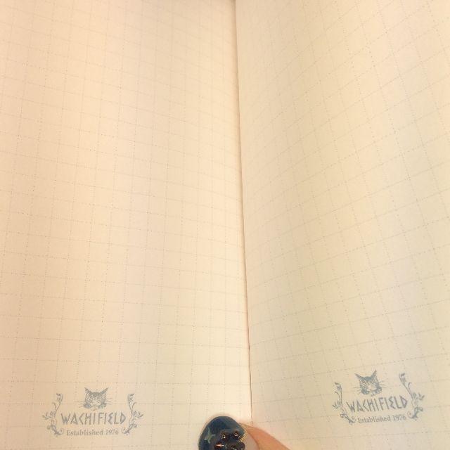 ダヤンの2020年版手帳の方眼メモ部分の画像