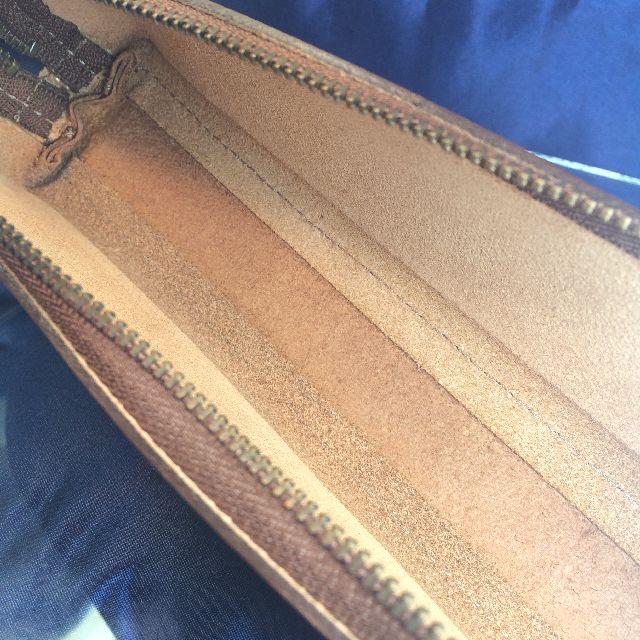 猫のダヤンの本牛革ペンケース「DB#4」の内側画像