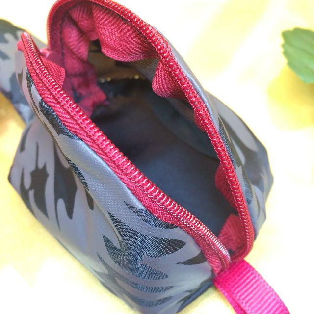 エコネコダヤントートバッグに付属のシッポポーチの内側の画像