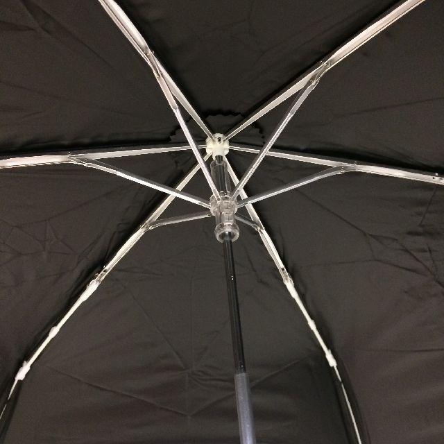 猫のダヤンの遮光ミニ折りたたみ傘「お城」柄の内側画像