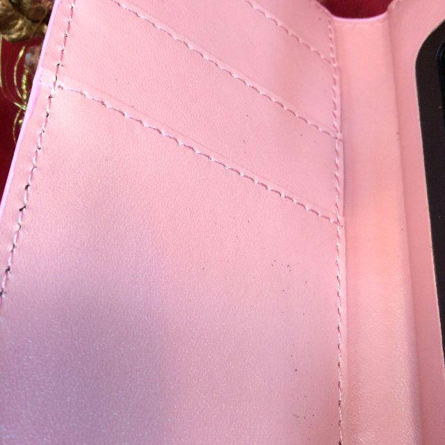 ダヤンのブック型スマホケースの内側のポケット部分の画像