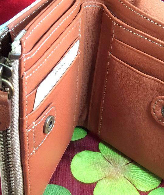 ダヤンの二つ折り財布パズルの内側の画像