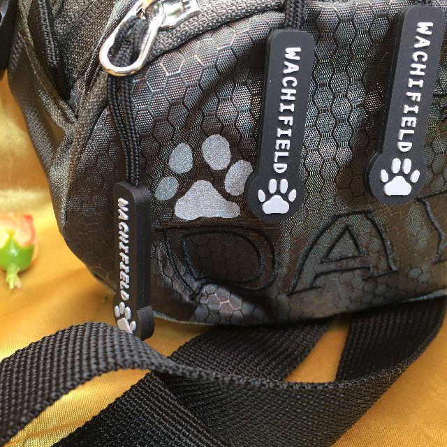 猫のダヤンのアウトドアポーチ「ふりむき」柄のオモテ面の画像