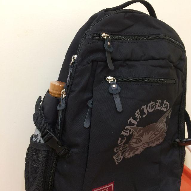 猫のダヤンのリュック「DDRide#12」の横ポケットの画像