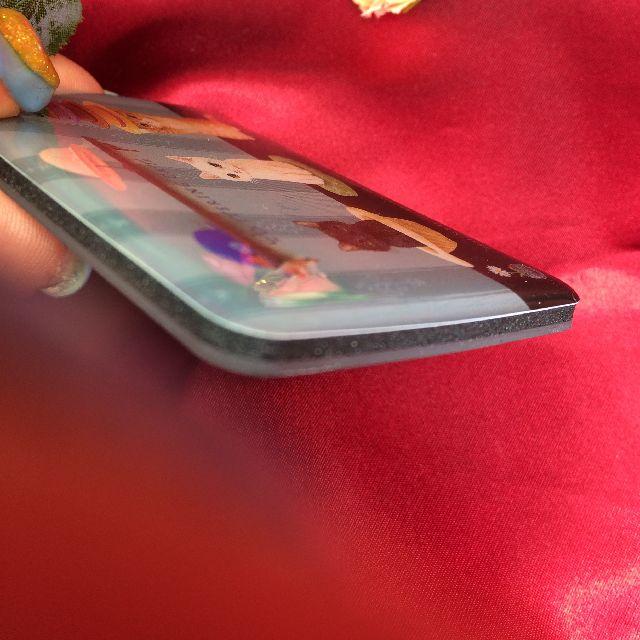 ポタリングキャットのカードマグネット「帽子」柄を横から見た画像