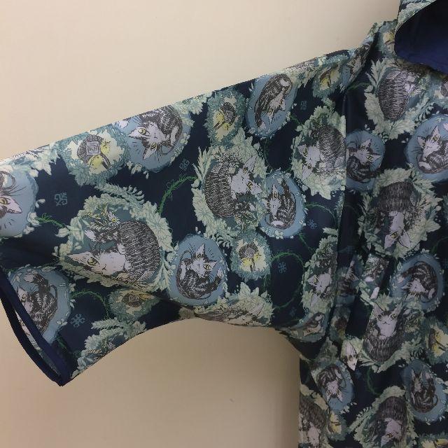 猫のダヤンのモモンガポンチョバルトBABY柄の袖の画像
