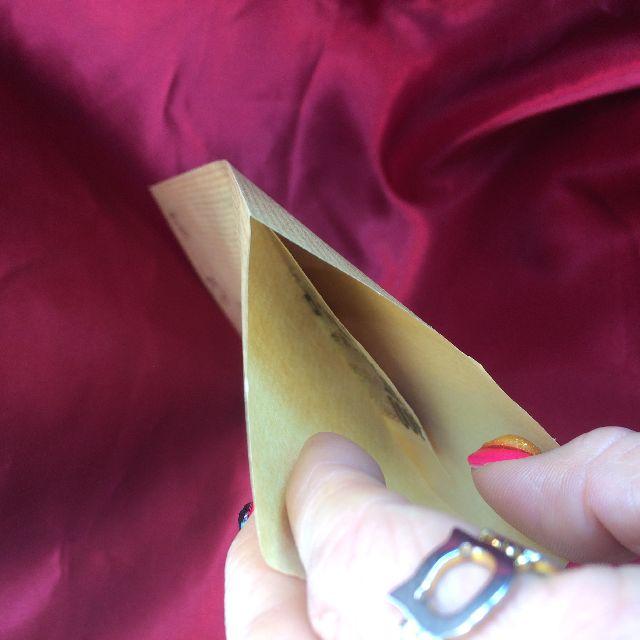 ポタリングキャットの茶封筒の内側の画像