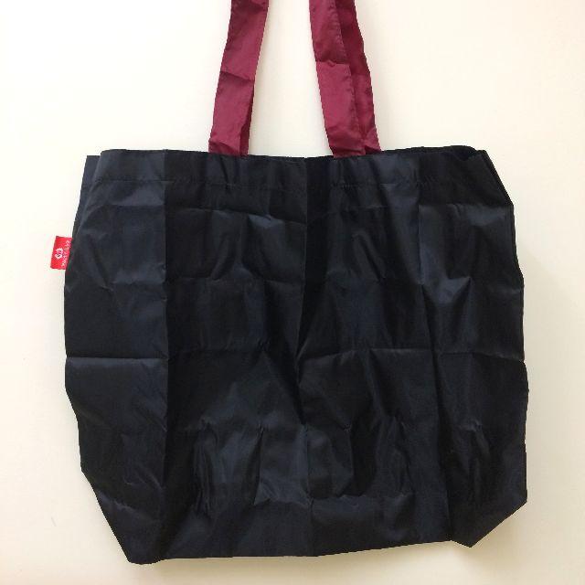 エコネコダヤンしっぽトートバッグの背面の全体画像