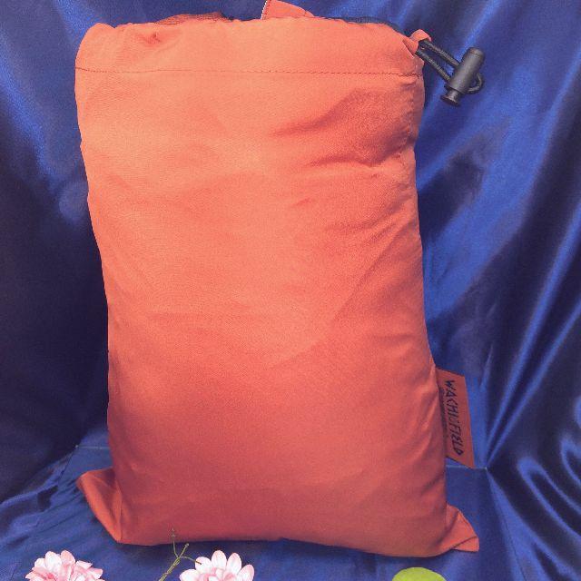 ダヤンの3WAYダウンケット「タシルの赤レンガ」の付属の巾着袋の画像
